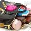 กระเป๋าเป้ Anello Canvas 2 Way Mini Boston Bag Mint เป้ผ้าใบ สะพายข้างลำตัว thumbnail 6