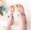 รองเท้าแตะส้นแบนไซส์ใหญ่ Gem Ornament รุ่น KR0240 thumbnail 7