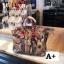 กระเป๋าถือสะพายหนังแท้ สองขนาด ลายงานหนังวัวแท้ สีทูโทน (Leather100%) thumbnail 7