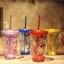 แก้วสองชั้นกากเพชร thumbnail 5