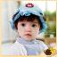 หมวกเด็กปีกกว้าง หมวกซันเดย์ ประดับปอยผม ลายกระต่ายน้อย (มี 3 สี) thumbnail 8