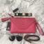 กระเป๋าสะพาย ปรับเป็นคลัชได้ สีช็อกกิ้งพิงค์ รุ่น KEEP Doratry shoulder &clutch bag thumbnail 2