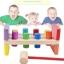 ของเล่นไม้ ชุดค้อนตอกแท่งไม้หลากสี Imaginarium thumbnail 1