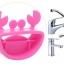 หัวต่อก๊อกน้ำอ่างล้างมือรูปปูน้อย ช่วยให้เด็กเล็กใช้อ่างล้างมือได้สะดวก ไม่ต้องเอื้อม thumbnail 7