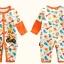 ชุดหมีเด็ก จั๊มสูทแขนยาวขายาว Cuddle me ลายยีราฟสีส้ม สำหรับเด็ก 6-18 เดือน thumbnail 5