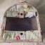 กระเป๋าคอตตอลติดลูกไม้ เขียว thumbnail 4