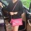 กระเป๋าสะพาย ปรับเป็นคลัชได้ สีช็อกกิ้งพิงค์ รุ่น KEEP Doratry shoulder &clutch bag thumbnail 7