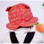 HT467••หมวกเด็ก•• / หมวกปีกกว้าง-นานาผัก (สีแดง) thumbnail 2