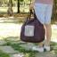 กระเป๋าช้อปปิ้งพับเก็บได้ ผ้าหนา สีสันสดใส ผลิตจากโพลีเอสเตอร์กันน้ำ คุ้มค่า (Street Shopper Bag) thumbnail 5