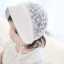 หมวกบอนเน็ตผ้าลูกไม้ หมวกเด็กผู้หญิงปิดท้ายทอย สีครีม (แบบที่ 2) thumbnail 9
