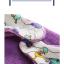 ผ้าซับน้ำลายสามเหลี่ยม ผ้ากันเปื้อนเด็ก [ผืนใหญ่] / สัตว์ทะเล thumbnail 3