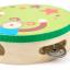 แทมบูรินไม้เคาะจังหวะสำหรับเด็ก การ์ตูนคละลาย - Tambourine musical educational toy thumbnail 7