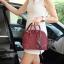 กระเป๋า KEEP Alma Infinite Handbag สีแดง ราคา 1,790 บาท Free Ems #ใบนี้หนังแท้ค่า thumbnail 6