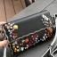 กระเป๋าสตางค์ FENDI wallet งานสวยระดับ พรีเมี่ยม งานสวยฝุดๆ งานปัก ลายดอกตอกหมุด วัสดุ งาน Pu เกรด Best Quality รับประกันความสวย thumbnail 5