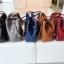 กระเป๋า Amory Leather Everyday Tote Bag สีเทา กระเป๋าหนังแท้ทั้งใบ 100% thumbnail 9