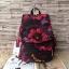 กระเป๋าเป้ KIPLING K 12147 CITY PACK B OUTLET HONG KONG ลายดอกไม้ thumbnail 1