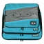 ชุดจัดกระเป๋าเดินทางคุณภาพดีมาก 3 ใบต่อชุด ใส่เสื้อ, กางเกง, กระโปรง, ผ้าขนหนู (Ecosusi 3 Set Packing Cubes - Travel Organizers) thumbnail 12