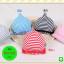 หมวกแก๊ป หมวกเด็กแบบมีปีกด้านหน้า ลายขวาง Twinkle (มี 5 สี) thumbnail 1