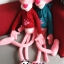 ตุ๊กตาพิงค์แพนเตอร์สวมเสื้อฮู้ด Pink Panther 160 cm thumbnail 2
