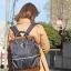 Anello x Collective Nylon & PU Large Backpack ราคา 1,490 บาท Free Ems thumbnail 1
