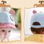 หมวกแก๊ป หมวกเด็กแบบมีปีกด้านหน้า ลายหมีน้อย (มี 4 สี) thumbnail 22