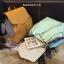 กระเป๋าเป้ Zara Backpack With Scarf สีฟ้าอ่อน ราคา 1,290 บาท Free Ems thumbnail 3