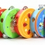 แทมบูรินไม้เคาะจังหวะสำหรับเด็ก การ์ตูนคละลาย - Tambourine musical educational toy thumbnail 8