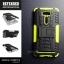 เคส Zenfone 2 Laser (5 นิ้ว) กรอบบั๊มเปอร์ กันกระแทก Defender สีเขียวอ่อน (เป็นขาตั้งได้) thumbnail 1