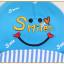 หมวกแก๊ป หมวกเด็กแบบมีปีกด้านหน้า ลาย Smile (มี 3 สี) thumbnail 5