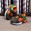 รองเท้าคัชชูเด็กเล็ก 0-2 ปี ทรงเท่ ลายพรางตาข่ายสีเขียว-ส้ม (เท้ายาว 11-13 ซม.) thumbnail 2