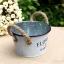 ถัง กระถางต้นไม้สังกะสีมีหูหิ้วเชือกปอ ลาย Flower & Garden thumbnail 13