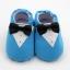 รองเท้าเด็กอ่อน ลายสูทสีฟ้า วัย 0-12 เดือน thumbnail 2