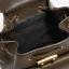 กระเป๋า CHARLES & KEITH METALIC PLATE BACKPACK สี Olive ราคา 1,490 บาท Free Ems thumbnail 5