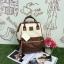 กระเป๋าเป้ Anello Polyurethane Leather Rucksack รุ่น Mini Two-Tone ใหม่ล่าสุด!!! thumbnail 1