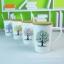 ชุดแก้วเซรามิค ลายต้นไม้ พร้อมฝาปิดไม้ ยกชุด 4 ใบ < พร้อมส่ง > thumbnail 1