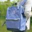 กระเป๋าเป้ ANELLO X PAGEBOY- LOCAL BRAND วัสดุ Polyester canvas สลับหนังกลับ ปากกระเป๋าเปิดปิดด้วยซิปคู่ thumbnail 2