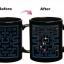 แก้วน้ำ Pac-Man เปลี่ยนภาพตามอุณหภูมิ <พร้อมส่ง> thumbnail 3