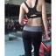สปอร์ตบรา Sport Bra เล่นฟิตเนต วิ่ง โยคะ ยืดตัว Level4 - สีดำ thumbnail 2