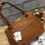 กระเป่า Anello PU Leather boston bag Camel Color ราคา 1,490 บาท Free Ems thumbnail 2