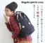 กระเป๋า Anello rucksack nylon day pack back 2017 สีกรม ราคา 1,290 บาท Free Ems thumbnail 1