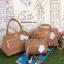 กระเป่า Anello PU Leather boston bag C.Beige Color ราคา 1,490 บาท Free Ems thumbnail 8