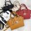 กระเป๋า Amory Leather Mini Lock City Bag Twoto สีดำ thumbnail 9
