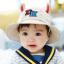 HT483••หมวกเด็ก•• / หมวกปีกกว้าง-DH (สีเบจ) thumbnail 1
