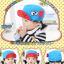หมวกแก๊ป หมวกเด็กแบบมีปีกด้านหน้า ลายแลบลิ้น (มี 5 สี) thumbnail 10