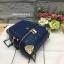 LYN EVITA BACKPACK 2017 รุ่นใหม่ชนช้อป กระเป๋าเป้ขนาดกะทัดรัด สีน้ำเงิน ราคา 1,490 บาท Free Ems thumbnail 3