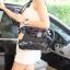 กระเป๋า David Jones Tote ตัวกระเป๋าเย็บติดด้วยแผ่นอคิลิค ราคา 1,690 บาท ส่ง Ems Free thumbnail 9