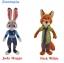 ตุ๊กตา zootopia judy hopps & nick wild thumbnail 1