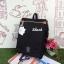 กระเป๋าเป้ Anello flap rucksack polyester canvas แบรนด์ดังรุ่นใหม่มาอีกแล้วว วัสดุผ้าแคนวาสเนื้อดี ยังคงเอกลักษณ์ความกว้างของปากกระเป๋าเพื่อการใช้งานที่ง่ายและสะดวก รุ่นนี้มีช่องเก็บสัมภาระมากมาย ทั้งภายในและภายนอก ด้านข้างใส่ขวดน้ำได้ ด้านหลังยังคงเป็นช่ thumbnail 31