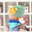 AP131••เซตหมวก+ผ้ากันเปื้อน•• / [สีเหลือง+ฟ้า] ปลา thumbnail 3