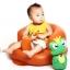 เก้าอี้หัดนั่งเด็ก แบบเป่าลม โซฟาส่วนตัวสำหรับวัยตั้งแต่ 3 เดือนขึ้นไป thumbnail 9